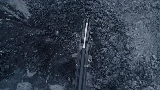 Thumbnail for Mining Site Constructions Aerial View