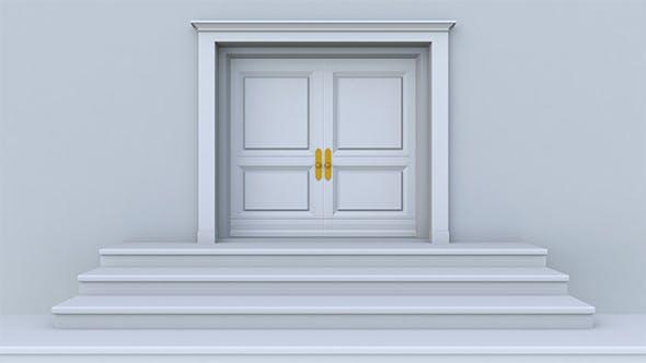 Thumbnail for White Door Opening 2