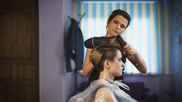 Thumbnail for Business Woman In a Beauty Salon