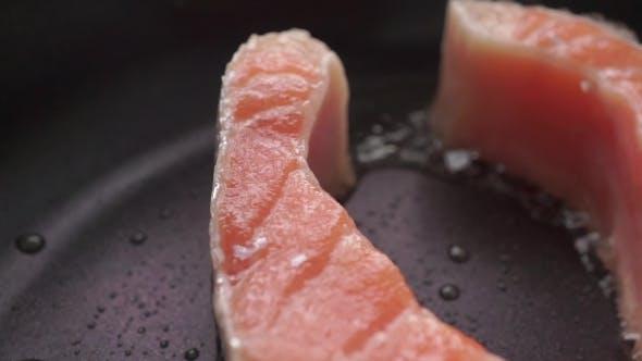 Thumbnail for Frizzling Salmon Steak