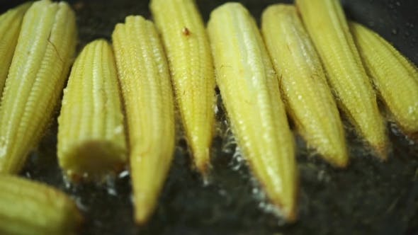 Thumbnail for Frying Corn Cobs