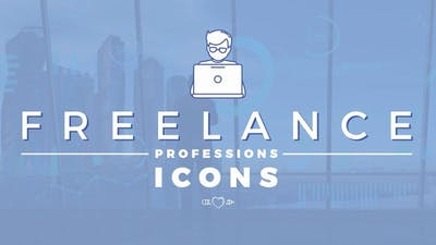 Freelance Professions Icons Pack