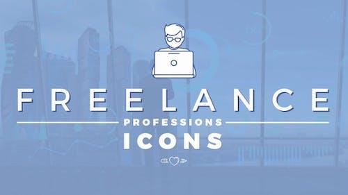 Pack d'Icones des professions indépendantes