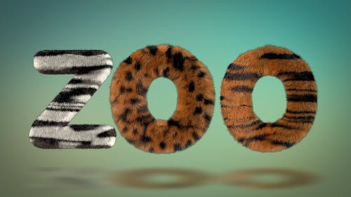Hairy Zoo Text Typeface