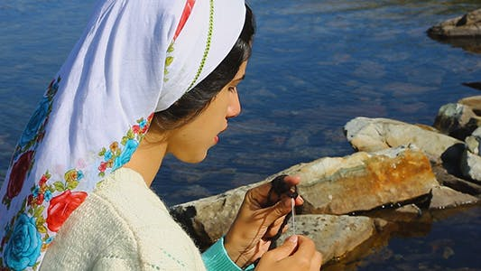 Thumbnail for Knitting and Village