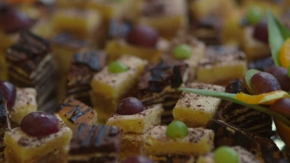 Thumbnail for Beautiful Delicious Cakes With Fruit