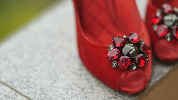 Thumbnail for Bride's Wedding Shoes