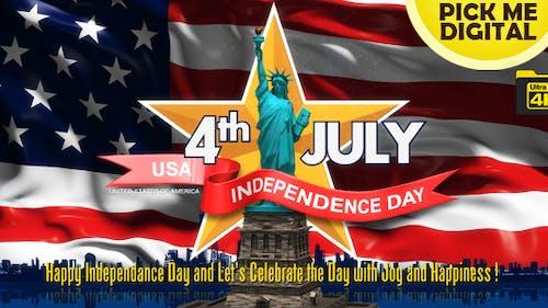 Jour de l'Indépendance et célébrations 4K