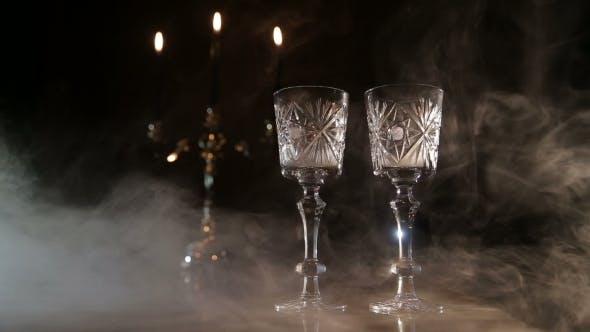 Thumbnail for Romantic Atmosphere In The Restaurant