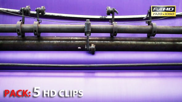 Thumbnail for Paper Roll Machine. Pack 5 Full HD Clips.