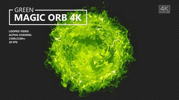 Green Magic Orb