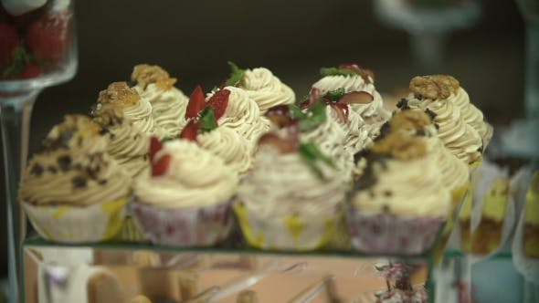 Thumbnail for Beautiful Cakes On The Sweet Table