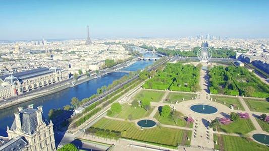 Thumbnail for Paris Aerial View 8