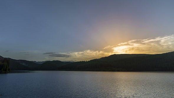 Thumbnail for Sunrise Over Mountain Lake