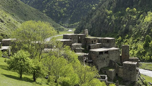 Thumbnail for Shatili Village Caucasus  Georgia