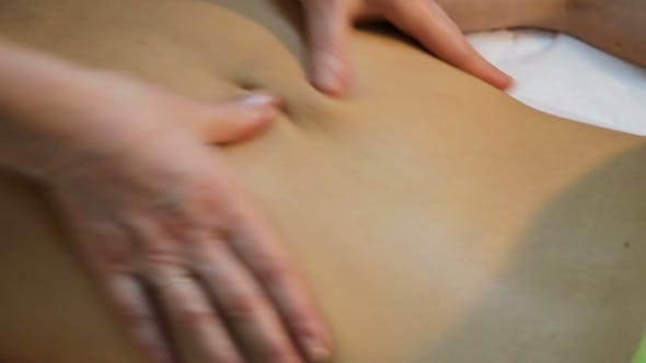 Thumbnail for Masseur Doing Massage On Woman In The Spa Salon.