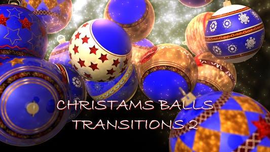 Thumbnail for Christmas Balls Transitions 2