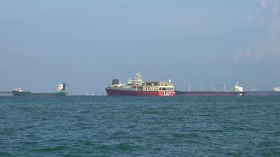 Cargo Ships Logistic
