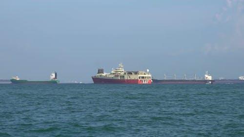 Cargo Ships Logistic