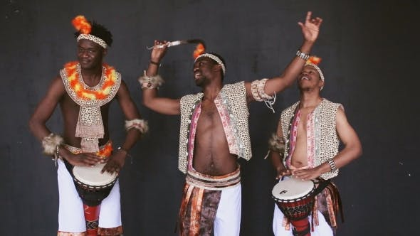 Thumbnail for African Tribe Dancing And Drumming
