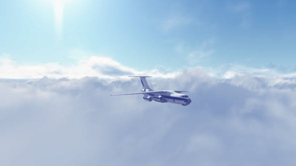 Thumbnail for Hi-Realistic Plane Flying Over the Clouds