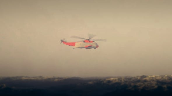 Thumbnail for Coast Guard - Resque Helicopter - Heavy Weather