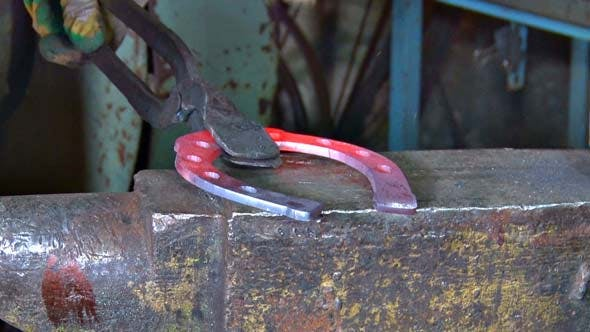 Thumbnail for Blacksmith Forges Horseshoe