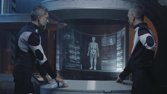Thumbnail for Astronaut Analyzing Human Biology Data
