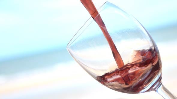 Thumbnail for Pouring Wine In A Glass