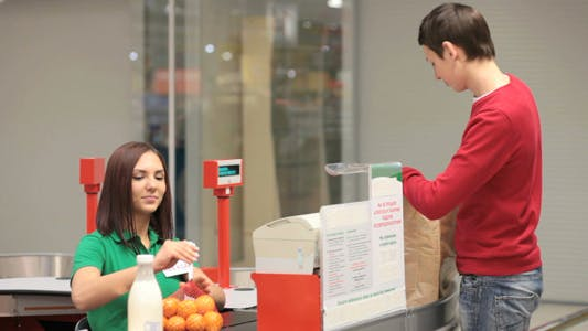 Buyer And Cashier