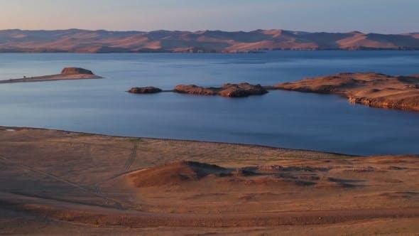 Thumbnail for Panoramic View Of Islands Of Lake Baikal