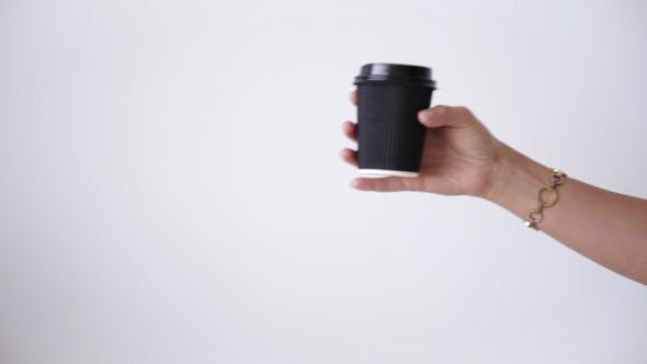 Thumbnail for Exchanging Take Away Paper Cups In Center
