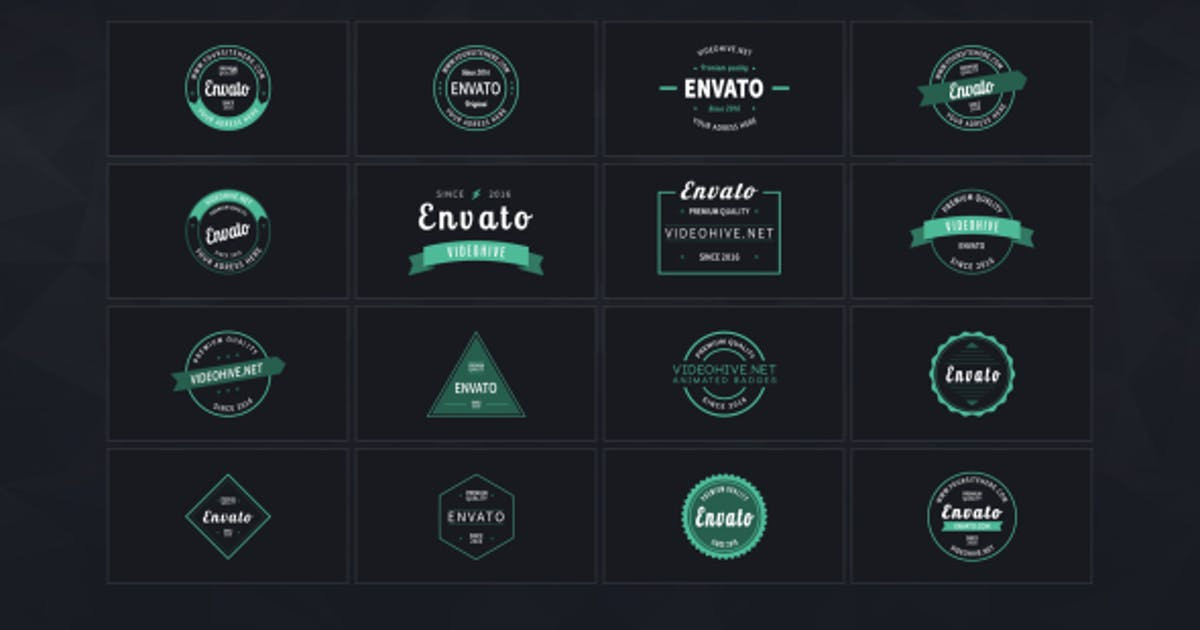 Download Animated Badges by George_Fx