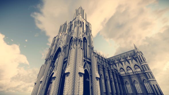 Thumbnail for Realistic 3D Cathedral