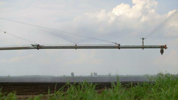Thumbnail for Sprinkler Irrigation System In Field