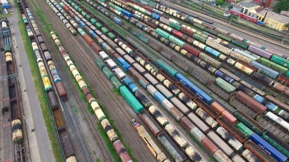 Thumbnail for Railway Yard With a Lot Of Railway Lines