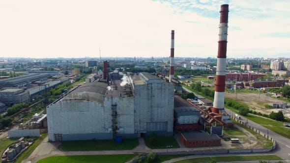 Power plant in Saint Petersburg