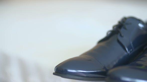 Groom Black Elegant Shoes