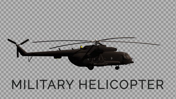 Military Helicopter - 3