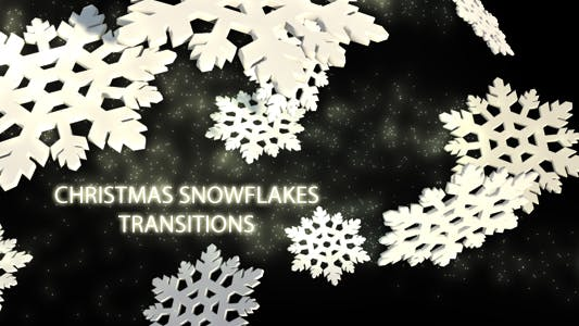 Thumbnail for Christmas Snowflakes Transitions