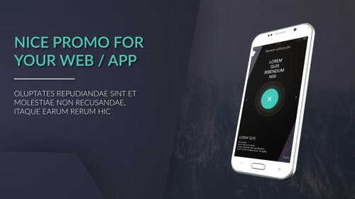 Android Web / App Promo