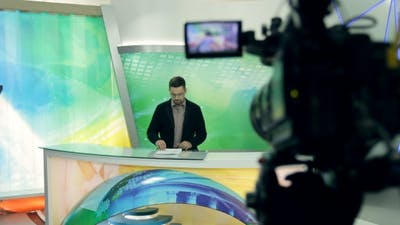 A News Studio Live