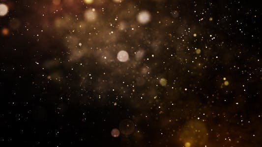 Glittering Particles