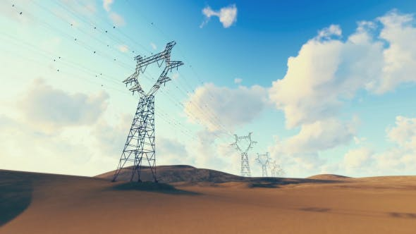 Thumbnail for Powerlines - Desert