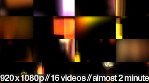Light Leaks and Flares Overlays - 16 Video Bundle