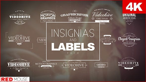 Thumbnail for Insignias And Labels Pack