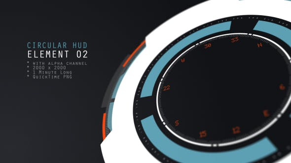 HUD Element 02 - product preview 0