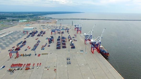 Thumbnail for Cargo Port Bronka, Aerial View