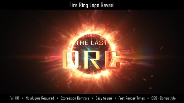 Cover Image for Fire Ring Logo Reveal