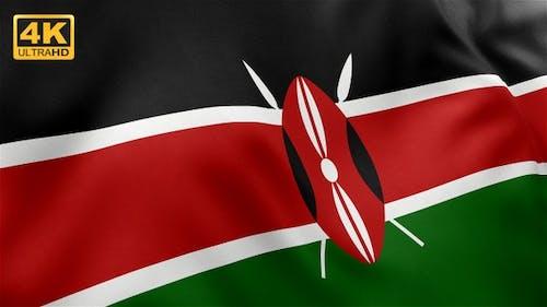 Kenya Flag - 4K